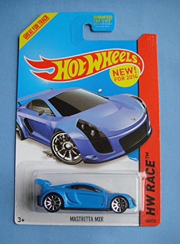 2014 Hot Wheels Hw Race Mastretta MXR - Blue - 1
