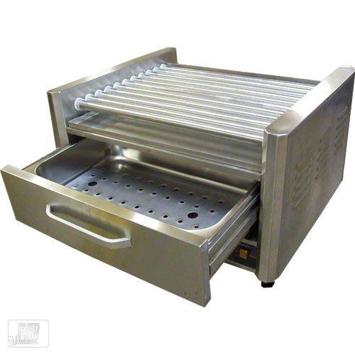 Hot dog roller grill with bun warmer - Hot dog roller grill with bun warmer ...