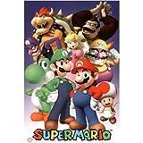 Super Mario Cast Nintendo Video Game Poster