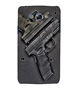 printtech Gun Armory Back Case Cover for Samsung Galaxy J7 / Samsung Galaxy J7 J700F
