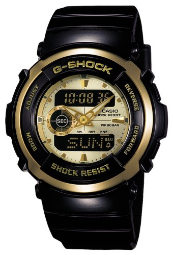 casio g shock standard treasure gold g 300g 9ajf japan. Black Bedroom Furniture Sets. Home Design Ideas