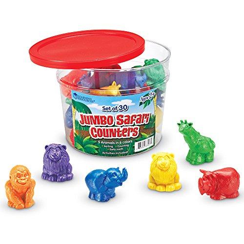 Learning Resources Jumbo Safari Counters