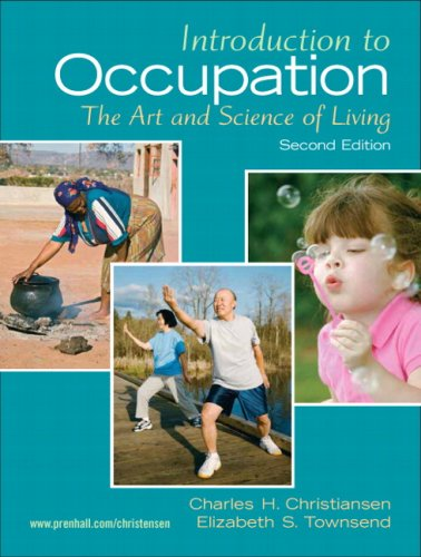 Introduction to Occupation: The Art of Science and Living...
