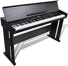 Piano Electrónico Clásico Piano Digital Con 88 Teclas & Soporte para Partituras