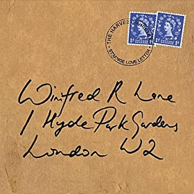 cover of Harvest Ministers - Strange Love Letter