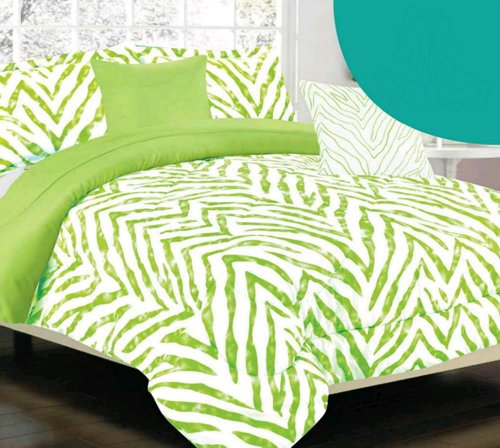 Lime Green Kids Bedding front-133544