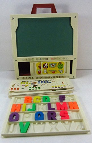 Vintage 1972 Fisher Price Toys School Days Desk - For extra parts only