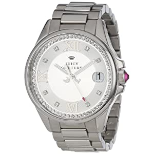 Juicy Couture Women's 1901025 Jetsetter Stainless Steel Bracelet Watch