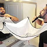 Bathroom Sink Apron bathroom apron - Man Bathroom Beard Care Trimmer Hair Shave Apron Gown Robe Sink Styles Tool Bathroom Apron Waterproof Floral Bib Cloth - Bathroom Beard Apron (White) (Color: White, Tamaño: OneSize fits most)