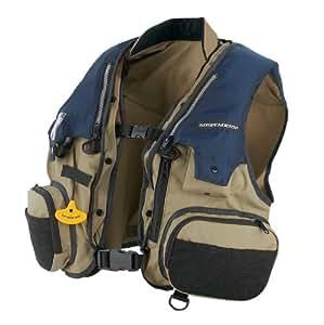 Stearns sospenders fishing vest pfd for Fishing vest amazon