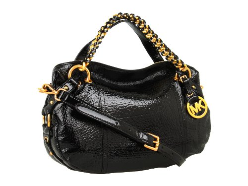 Michael Michael Kors Tristan Medium Satchel Black