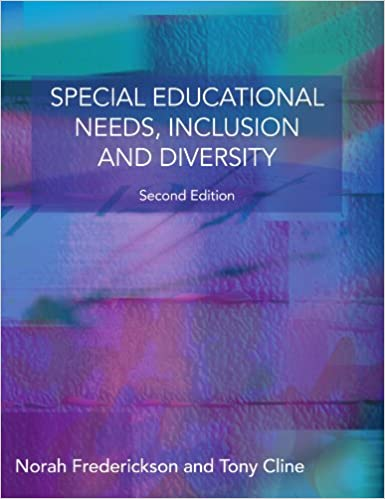 Book cover: special educational needs, inclusion and diversity