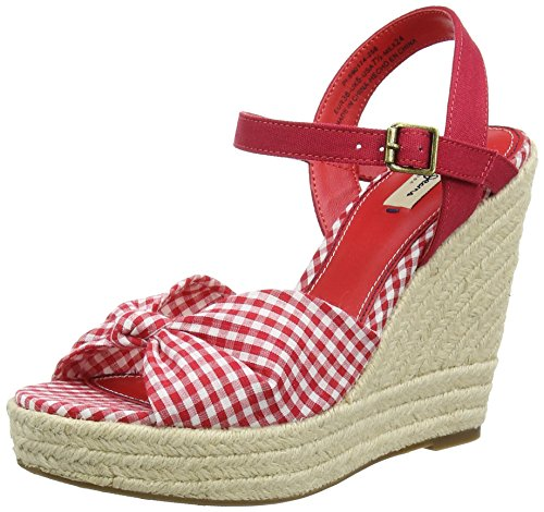 Pepe JeansWALKER TUBULAR - Sandali Donna , Rosso (Rot (258RED HOT)), 41