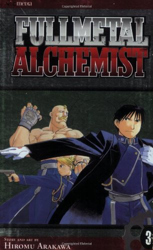 鋼の錬金術師 コミック3巻 (英語版)
