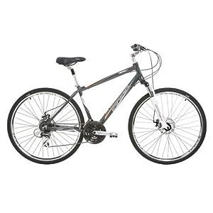 Indigo Men's Verso 3 Hybrid Bike - (Grey, 20 Inch, 28 Inch)