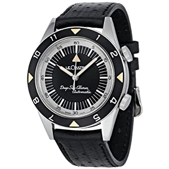 Jaeger LeCoultre Memovox Tribute to Deep Sea Black Dial Automatic Mens Watch Q2028440