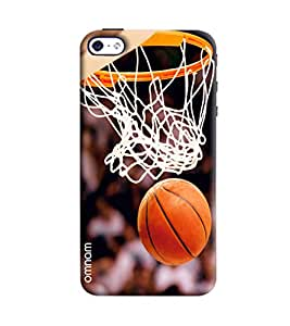 Omnam Basket Ball Net Printed Designer Back Cover Case For Apple iPhone 4/ 4S