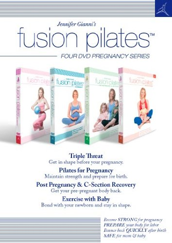 Jennifer Gianni's Fusion Pilates - Four DVD Pregnancy Series