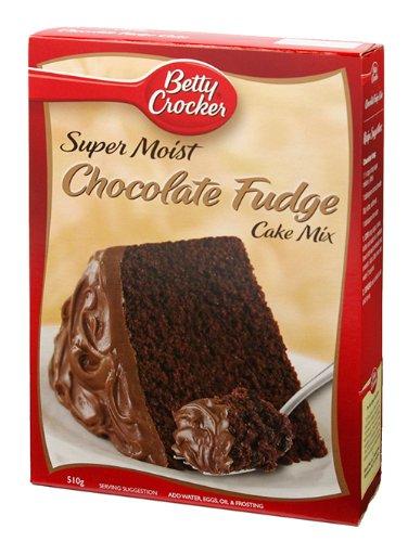 ベティクロッカー チョコレートファッジケーキ ミックス 510g