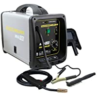 Pro-Series MMIG125 125 Amp Fluxcore Mig Welder Kit, Black by Buffalo Tools