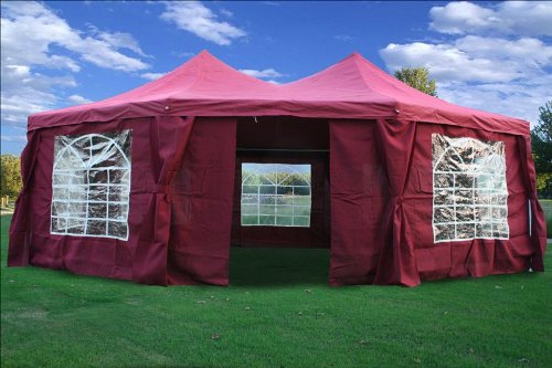 29'x21' Octagonal Wedding Party Tent Canopy Gazebo