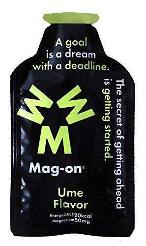 Magーonエナジージェル 梅 持久系アスリート向け水溶性マグネシウム&エネルギー