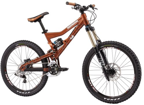 Mongoose Pinn'r Foreman Dual Suspension Mountain Bike (26-Inch Wheels)