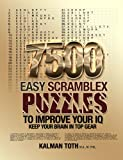 7500 Easy Scramblex Puzzles To Improve Your IQ