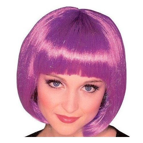 Rubies Costume Co Purple Super Model Costume Wig