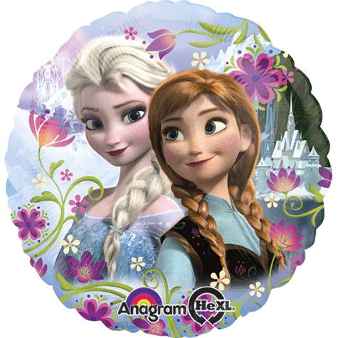 "18"" Disney Frozen Anna and Elsa Foil Balloon"
