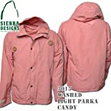Washed Light Parka 3015: Candy