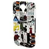 Elle Vintage Mobile Phone Cover for Samsung Galaxy S4 - Black