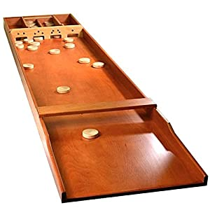 dutch shuffleboard sjoelbak billard hollandais toys games. Black Bedroom Furniture Sets. Home Design Ideas