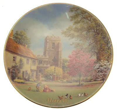 Davenport For All Time March plate Marji Daisley - 6 inch diameter - CP1486