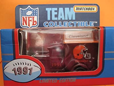 Cleveland Browns- Model A Ford-Matchbox White Rose Collectible (1991) Sealed in Original Box