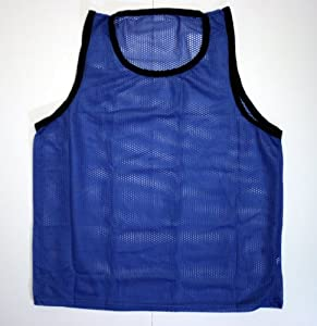 BlueDot Trading Youth High quality 12 blue adult sports pinnies-12 High quality... by Bluedot Trading