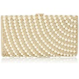 MG Collection Ivonne Pearl Evening Bag