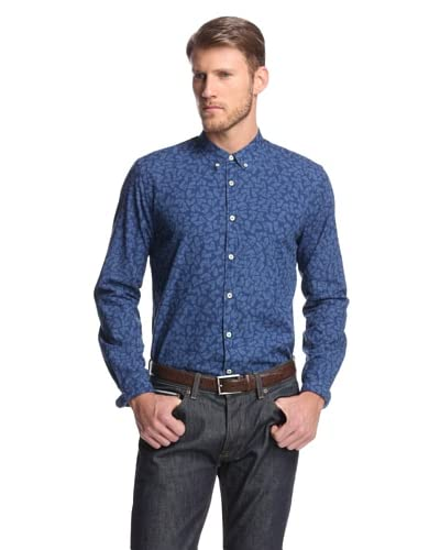 Levi's Made & Crafted Men's Button Down Shirt with Horse Print