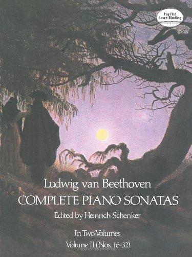Ludwig Van Beethoven Complete Piano Sonatas Volume 2...