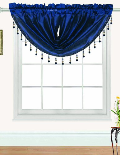 RT Designers Collection Nikki Valance, 47 by 37-Inch, Navy