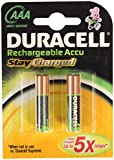 Duracell Batteries, NIMH 1.2V, 850 mAh, Long Life Ion Core, AAA 4 batteries