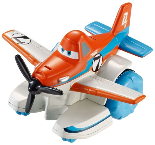 Disney Planes: Fire & Rescue, Hydro Wheels, Dusty Bath Vehicle - 1