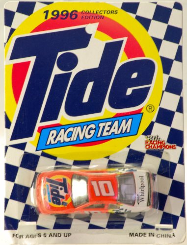1996 - Racing Champions - Collectors Edition - Tide 50th Anniversary - Tide Racing Team - Ricky Rudd - #10 Ford Thunderbird - NASCAR - Very Rare - Mint - Collectible - 1