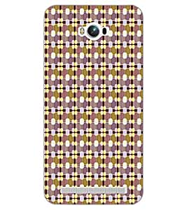 PrintDhaba PATTERN D-6763 Back Case Cover for ASUS ZENFONE MAX ZC550KL (2016) (Multi-Coloured)