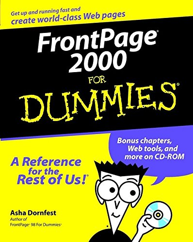 FrontPage 2000 For Dummies (Frontpage 2000 compare prices)