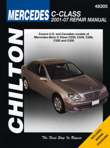 Mercedes benz c class chilton 39 s total car care repair for Mercedes benz care
