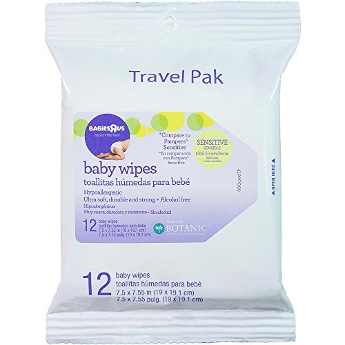 Babies R Us Sensitive Unscented Baby Wipes Travel Pack - 12 Count - 1
