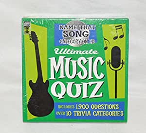 Amazon Com Ultimate Music Quiz Name That Song Category