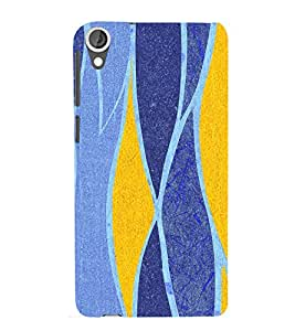 printtech Abstract Pattern Back Case Cover for HTC Desire 820G+ dual sim