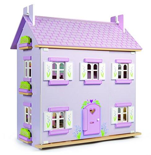 Lavendel Haus Puppenhaus Holz